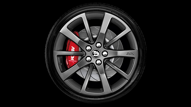 Walkinshaw Performance HSV Dark Stainless SV Wheel