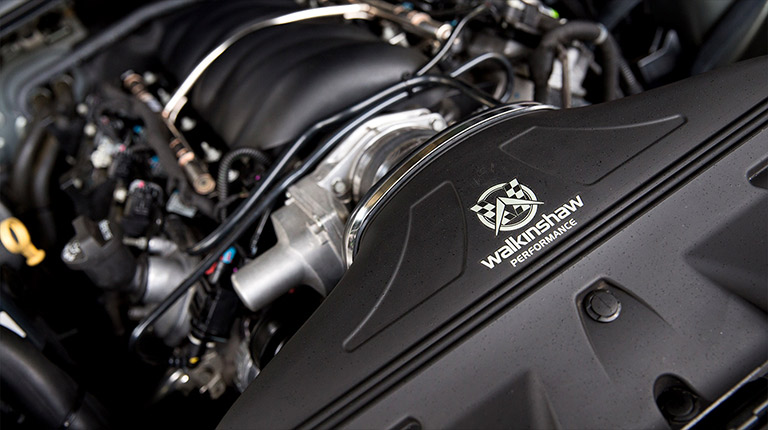 Walkinshaw Performance Over the Radiator Cold-Air-Intake